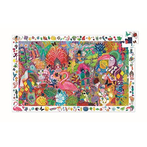 Djeco Puzzle Wimmelbild Rio Karneval - 200 Teile