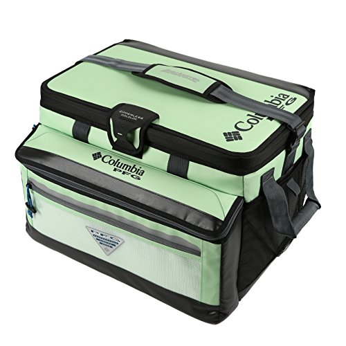 Columbia PFG Brewha 58 Can Family Size Zipperless HardBody Thermal Pack, Key West