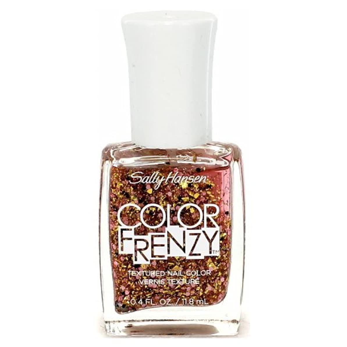 荒らす散髪良さ(3 Pack) SALLY HANSEN Color Frenzy Textured Nail Color - Splattered (並行輸入品)