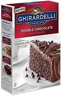 Ghirardelli Chocolate - Double Chocolate Premium Cake Mix 12.75 oz. (Pack of 2)