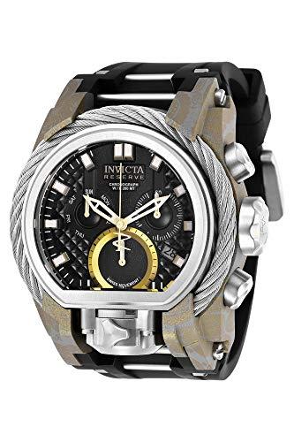 Invicta Reserve Chronograph Black Dial Mens Watch 26442
