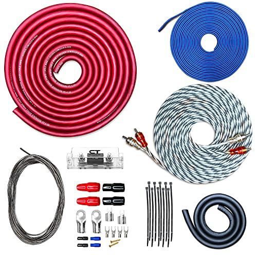 CT Sounds 0 Gauge CCA Complete Amp Wiring Install Kit, AMPKIT-0GA-REF