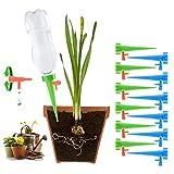 Haokaini Selbstbewässernde Spikes, automatische Bewässerung, globale Geräte, Gartenhaus-Kabinen-Kit mit langsam entriegelbaren Ventilen für Innen- und Außenbereich