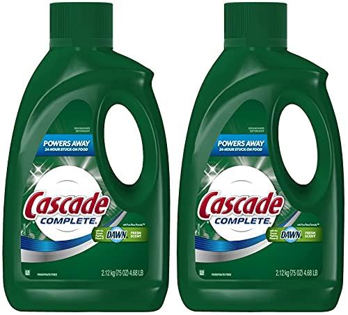 Cascade Complete Gel All-in-1 Dishwasher Detergent