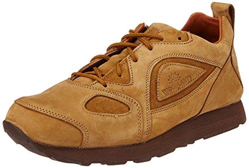 Woodland Men's Camel Leather Shoes - 7 UK