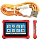 Charging Cord for Nabi 2 II NABI2-NV7A NABI2-NVA, Orange 6 Feet Long USB-NABI-DC-ORX2