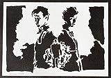 Póster Doctor Who Grafiti Hecho a Mano - Handmade Street Art - Artwork