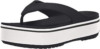 Crocs Crocband Platform Flip U, Scarpe da Spiaggia e Piscina