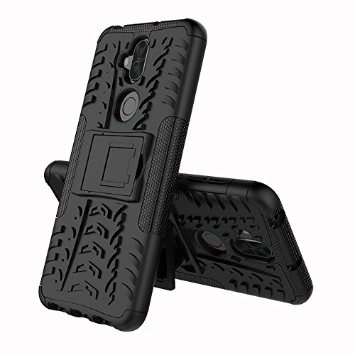 Zenfone 5 Lite (6.0') Funda, FoneExpert® Heavy Duty silicona híbrida con soporte Cáscara de Cubierta Protectora de Doble Capa Funda Caso para Asus Zenfone 5Q ZC600KL / Zenfone 5 Lite (6.0')
