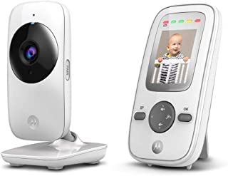 "Babá Eletrônica Motorola MBP481 - Tela de 2"", Zoom Digital e Visão Noturna Infravermelha, Motorola, Branco"