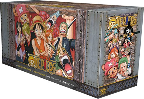 One Piece Box Set 3: Thriller Bark to New World: Volumes 47-70 with Premium (3) (One Piece Box Sets)