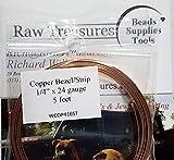 Solid Copper Bezel/Strip...image
