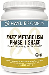 Haylie Pomroy's Fast Metabolism Diet Shake Phase 1: Soothe Adrenals and Unwind Stress