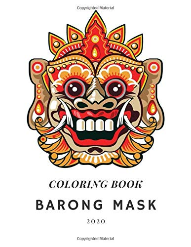 Barong Mask: Coloring Book for Adults