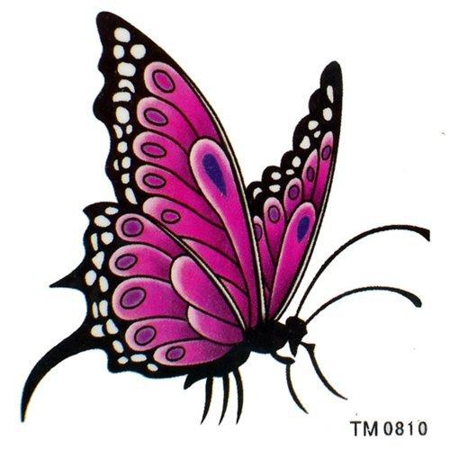 King Horse étanches tatouages temporaires papillon élégantes de mariage sexy séduisantes tatouages temporaires