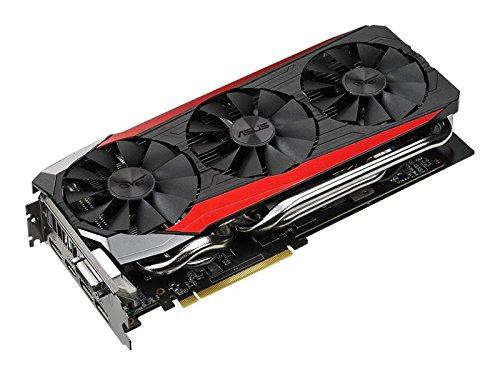 Asus Strix-R9390-DC3OC-8GD5-GAMING AMD Gaming Grafikkarte (PCIe 3.0 x16, 8GB DDR5 Speicher, HDMI, DVI, 3x DisplayPort)