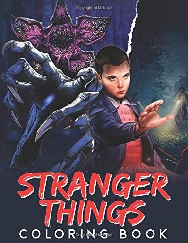 Stranger Things Coloring Book: Jumbo Stranger Things Colorin