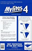 """Mylites Heavy Duty 4 mil Comic Book Silver & Golden Age Size 7-3/4"""" x 10-1/2"""" Plus 1-1/2"""" Flap Pack of 50 [並行輸入品]"""