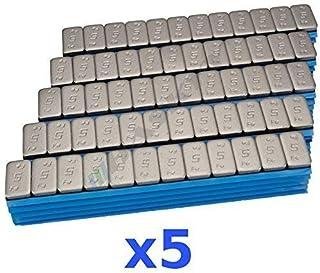 5 x 6 kg 30 kg premium balansvikter 12 x 5 g självhäftande vikter självhäftande stänger 500 lås