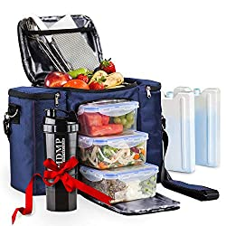 b3329129af47 The MDMP (My Daily Meal Plan) is a well-designed lunch bag that offers  storage room for three separate food containers and a drink bottle or  shaker.