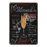 Wise Degree 20cmx30cm Bar Affiche Club Mur Cuisine Art café Garage Bureau Boutique...