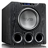 SVS PB-4000 Subwoofer (Black Ash) – 13.5-inch Driver, 1,200-Watts RMS, Ported Cabinet, App Control