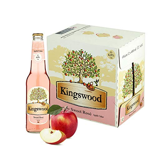 Kingswood Rosé Cider Box (12 x 0.4 l)