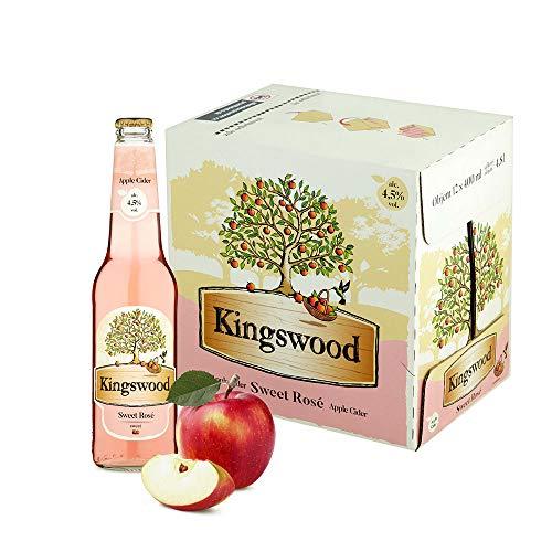 Kingswood Rosé Cider Box (12 x 0.4 l)