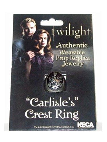 NECA Twilight Carlisle's Crest Ring Size 10 Replica Jewelry