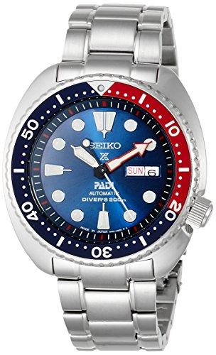 [セイコーウォッチ] 腕時計 プロスペックス メカニカル DIVER SCUBA PADIスペシャルモデル ブルー文字盤 SBDY017 メンズ シルバー