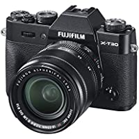 Fujifilm X-T30, Kit cámara con Objetivo Intercambiable XF18-55/2.8-4, Color Negro