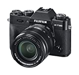 Fujifilm X-T30, Kit cámara con Objetivo Intercambiable XF18-55/2.8-4, Color Negro