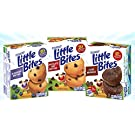 Entenmanns Little Bites Mini Muffins Variety Bundle: Blueberry, Chocolate Chip, Fudge Combo.