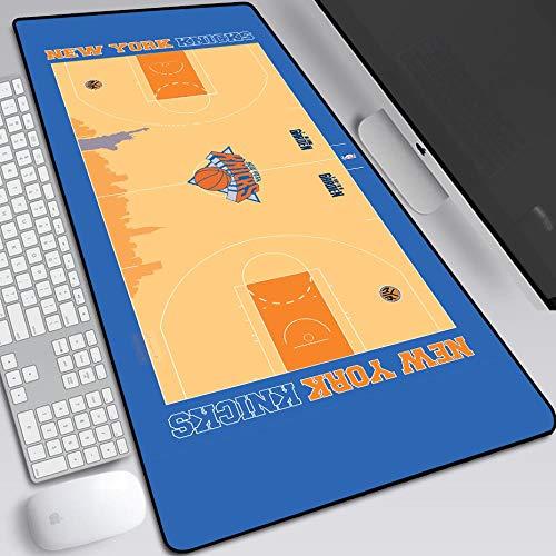 Tappetino Per Mouse Tappetino Per Mouse Da Gioco Esteso Basket Nba -900 X 400 X 3Mm Controllo Di Precisione Base In Gomma Antiscivolo Per Tappetino Per Tastiera Tappetino Da Scrivania Gioco Per Pc, R