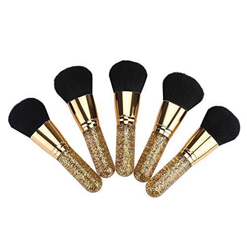 Nourich 1PC pinceau à maquillage grand pinceau à poudre, Makeup Brushes Professional Cosmétique de haute qualité,pour Maquillage du Visage Parfait Pour le Mélange Liquide (01#)