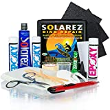 SOLAREZ UV Cure SUP Epoxy Pro Travel Kit - Epoxy Surfboard Repair Kit ~ Cures 3 min in The Sun! Epoxy Surfboard Repair, SUP Repair, Epoxy Wakeboard Repair, Low Odor ~ Eco Friendly, Made in The USA!
