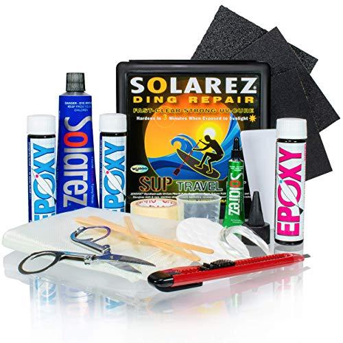 SOLAREZ UV Cure SUP Epoxy Pro Travel Kit - Epoxy Surfboard Repair Kit...