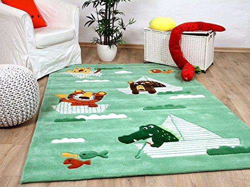 Lifestyle Kinderteppich Funny Animals Mintgrün !!! Sofort Lieferbar !!!