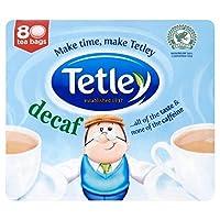 1パックテトリーカフェインレスティーバッグ80 - Tetley Decaffeinated Tea Bags 80 per pack [並行輸入品]