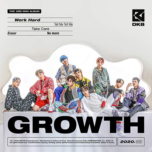 DKB Dark B - Growth (3rd Mini Album) Album