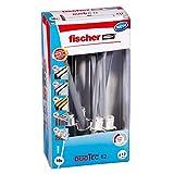 fischer 542590 conductos de Agua, radiadores, Tacos para Instalar lamparas, 10 Unidades, Duotec 12 - Caja Bricolaje