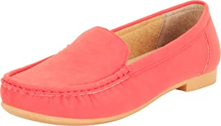 Cambridge Select Women's Classic Slip-On Flat Moccasin Loafer