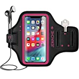 iPhone 11 Pro Max, iPhone Xs Max Armband, JEMACHE Water Resistant Gym Running