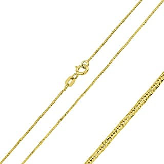 Princess Kylie Sterling Silver Thin Anchor 025 Chain 1mm