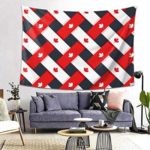 Review bneegxg Tapestries Décor Picnic Mat Canada Flag for Bedroom Dorm Decor 59.1(H) X78.7(W)