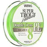 VARIVAS(バリバス) PEライン スーパートラウト アドバンス ダブルクロス 100m 0.8号 8lb 8本 ライトグリーン