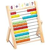 hsj Compteur pour enfants, boulier, perles, arithmétique mentale, bâton de comptage, mathématiques, artisanat exquis.