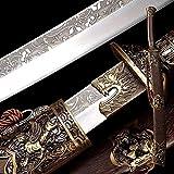 OYZ Kangxi Emperor Horse Chopping Broadsword Sabre Chinese Sword Folded Steel Blade