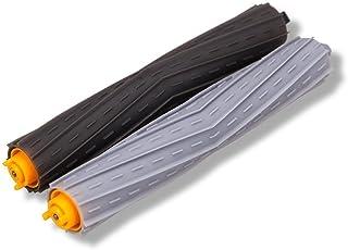 エアロブラシ 取り換え ルンバ 800 900 シリーズと互換性のある消耗品セット フレキシブルブラシ (一対)