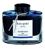 Pilot Iroshizuku Fountain Pen Ink - 50 ml Bottle - Kon-peki Deep Azure Blue (Deep Blue) (japan import) (1, 10.5 IN)